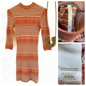 Free People Cotton Sweater Dress